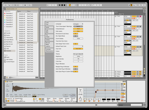 MoRetro Theme for Ableton 10 by Davey