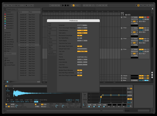 Dark Pro Theme for Ableton 10 by studiopolyphonic
