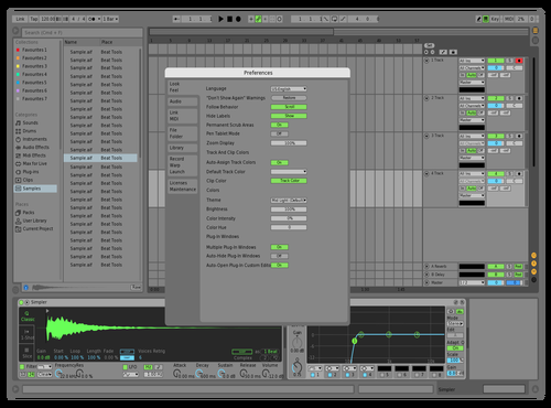 Becate Theme for Ableton 10 by Becate