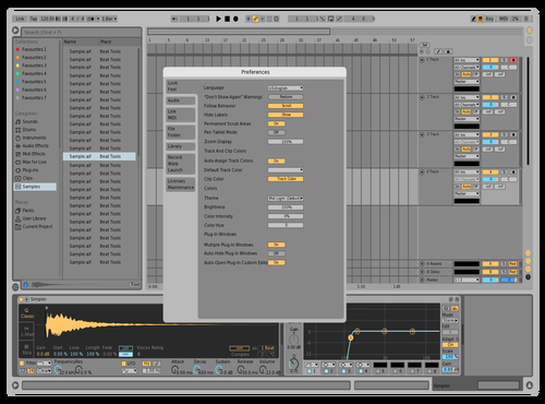Runaway2 Theme for Ableton 10 by Ben