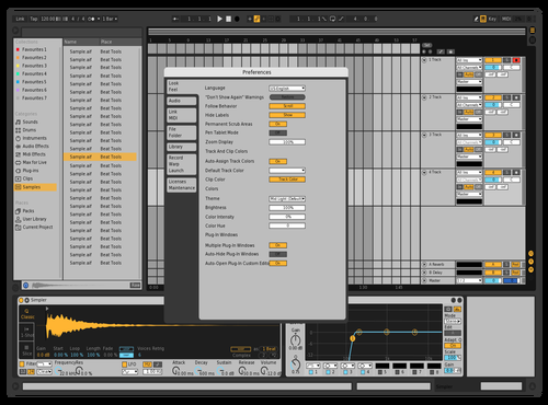 **** White Theme for Ableton 10 by ggh