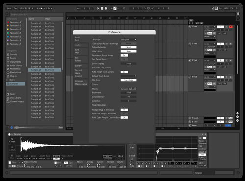 BLACK N WHITE PENG Theme for Ableton 10 by NINEX