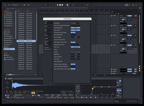 Namm 2.0 Theme for Ableton 10 by Reaver