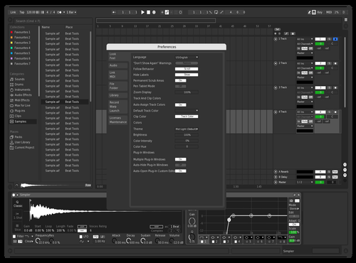 Sanchez 1 Theme for Ableton 10 by Christopher Sanchez