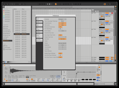 MX2 Theme for Ableton 10 by Luis