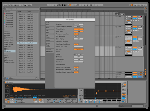 Asdfasdf Theme for Ableton 10 by Gurney