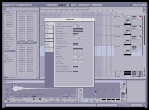 CoolPurpleGray Theme for Ableton 10 by cycloone.712