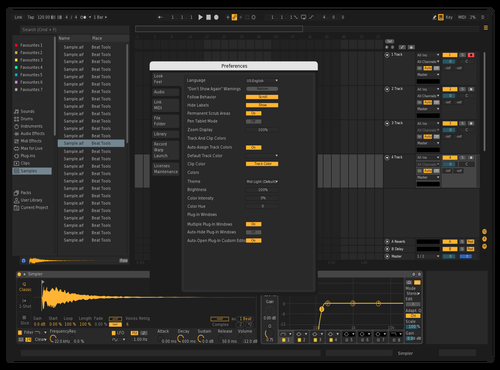 Yello X Mello Theme for Ableton 10 by Tejan sahu