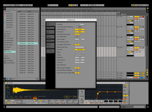 Live 9 Theme for Ableton 10 by Nicolas Duque