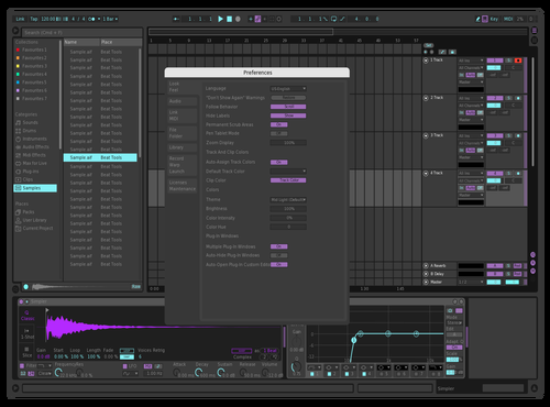 Asdffawef Theme for Ableton 10 by frijol