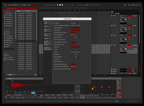 Vvolv red Theme for Ableton 10 by dnjd