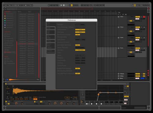 NEW Theme for Ableton 10 by SamArtz