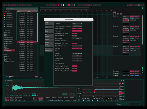 FAQAT Noice Theme for Ableton 10 by Chahin Derna