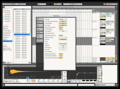 JoeBlow Theme for Ableton 10 by bobhog
