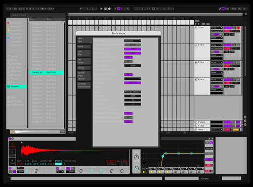 666 Theme for Ableton 10 by sonny