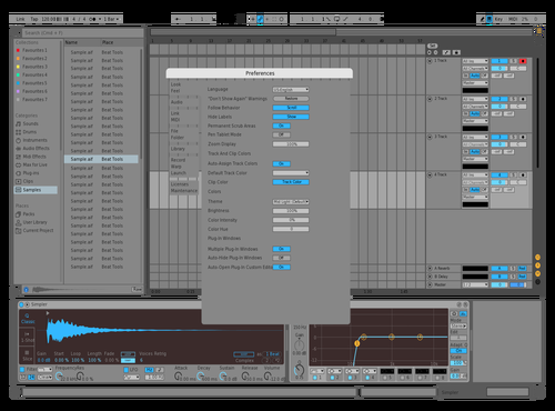 Test Theme for Ableton 10 by Ambrus Deak