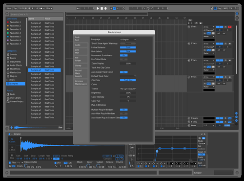 Logic Fixed Theme for Ableton 10 by Marzor