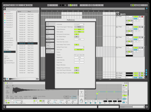 Only test Theme for Ableton 10 by DRstelth