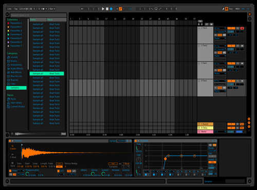AE Mk2 Theme for Ableton 10 by AgainstEye