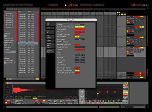 Hatvd Theme Theme for Ableton 10 by Nick