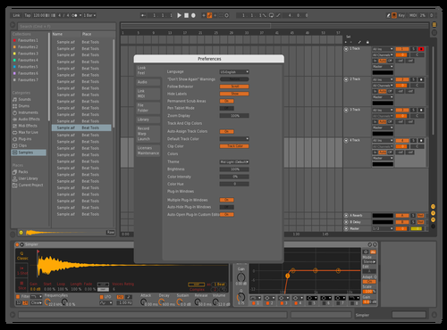 Foxofficial Orange Theme for Ableton 10 by Maxim