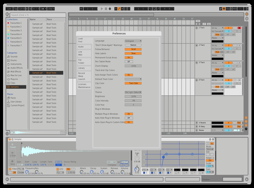 BLW Theme for Ableton 10 by david