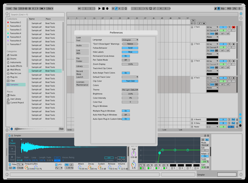 Poooi Theme for Ableton 10 by Ta