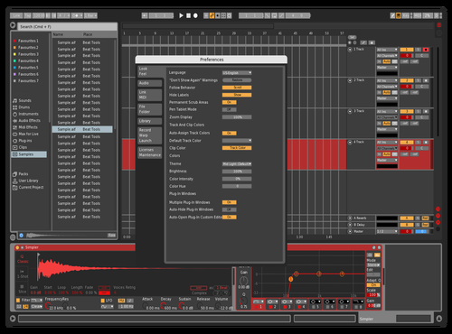 Red Theme for Ableton 10 by Alessandro