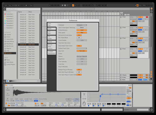 Massive x lil darker Theme for Ableton 10 by Armando Malo Mora