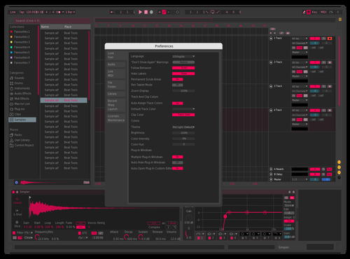Cherry Theme for Ableton 10 by Nikolay_Zhukov
