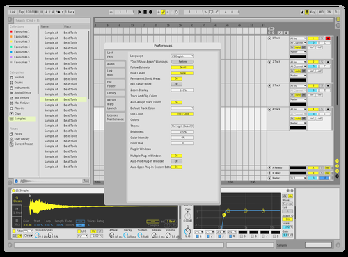 Da Night Theme for Ableton 10 by Dnou