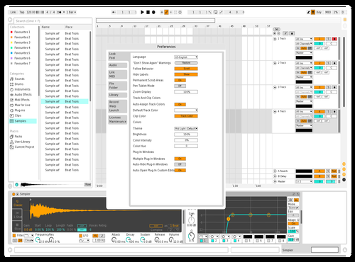 Light Custom Theme for Ableton 10 by RedBull