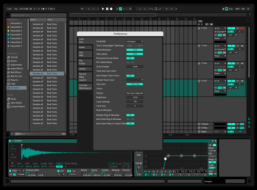 Yonderling Theme for Ableton 10 by dotmpeg