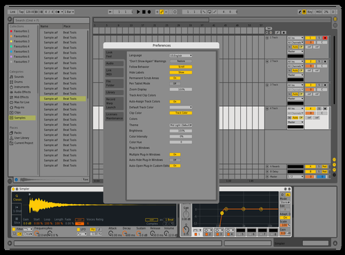 Live9xx Theme for Ableton 10 by Nauj
