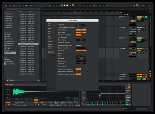 Engine Theme for Ableton 10 by Reaver