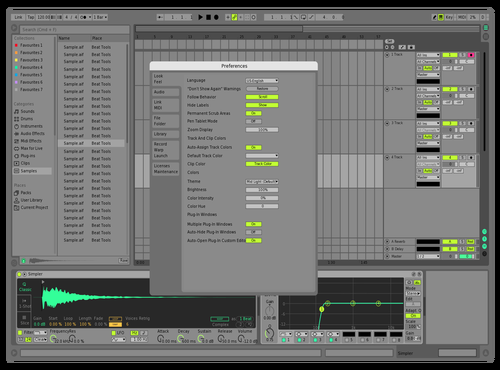 G Theme for Ableton 10 by Del Verde