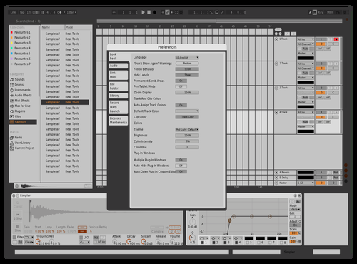 RedRAkiN 03 test Theme for Ableton 10 by Radouane Alaoui