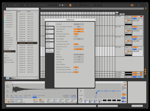 Mx2 Theme for Ableton 10 by version.onee