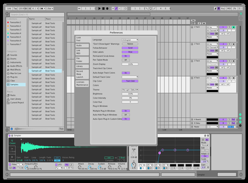 Prod: Gazza lightish Theme for Ableton 10 by Prod: Gazza