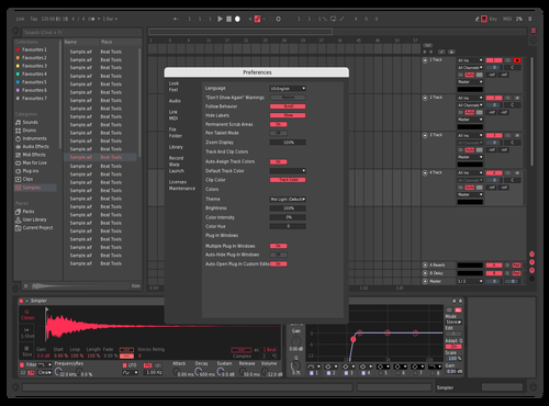 Refined 1 Theme for Ableton 10 by GRE G