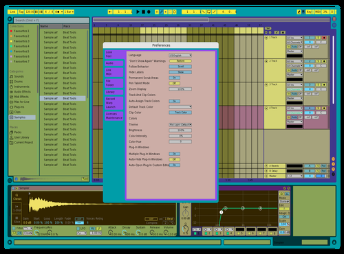 **** Gold Theme for Ableton 10 by Trung Nguyễn