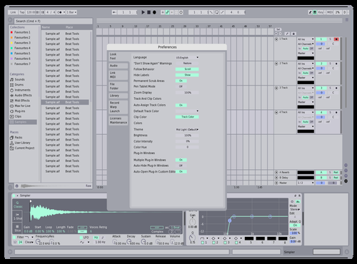 R1 Theme for Ableton 10 by Alexander