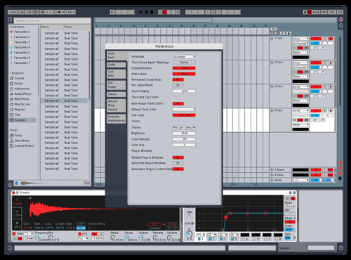 SIMPLE & CLEAR Theme for Ableton 10 by KHALILSABHA