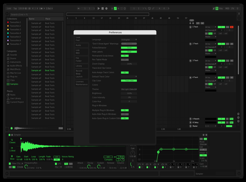 Spotify remix Theme for Ableton 10 by Laevsky