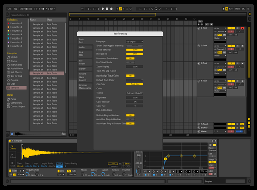#4 Theme for Ableton 10 by Gurney