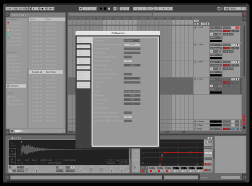 1200_red19 Theme for Ableton 10 by RED19