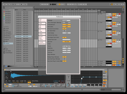 Minor Changes Theme for Ableton 10 by Deuces