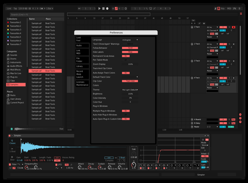 OK COOL Theme for Ableton 10 by Pushpit