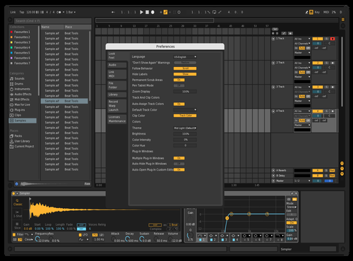 Darker Theme for Ableton 10 by riley