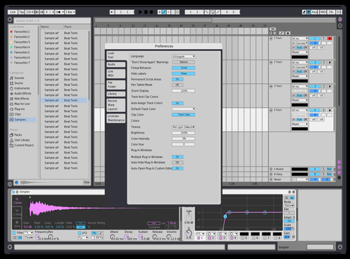 Light wave Theme for Ableton 10 by redcircle